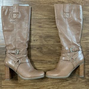 Bandolino Taupe Tall Boots- in new condition